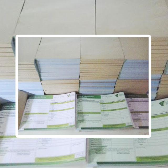 Percetakan buku tahunan