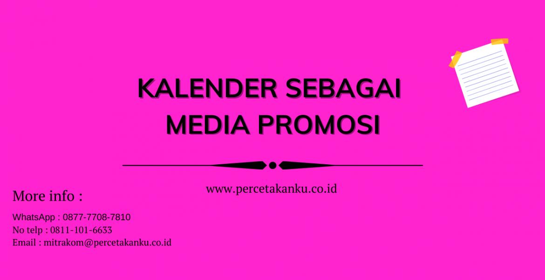 Kalender sebagai media promosi