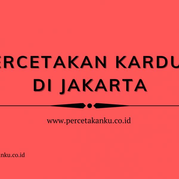 Jasa Pembuatan Kardus Berkualitas Jakarta